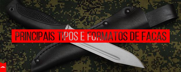 Principais tipos de facas ventureshop