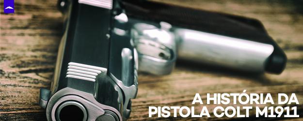 História Pistola M1911 Projeto M1911 VentureShop