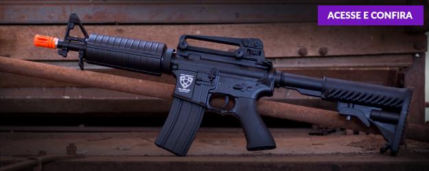 rifle aeg m933 com blowback